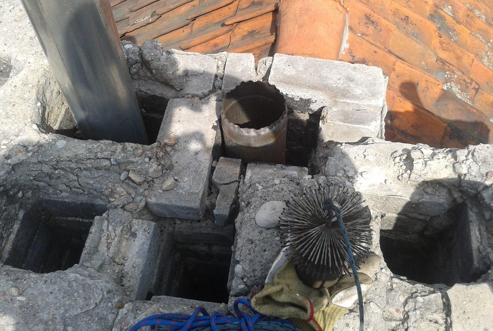 Oryginał Asfalt w kominie — Czyste Ogrzewanie SJ29