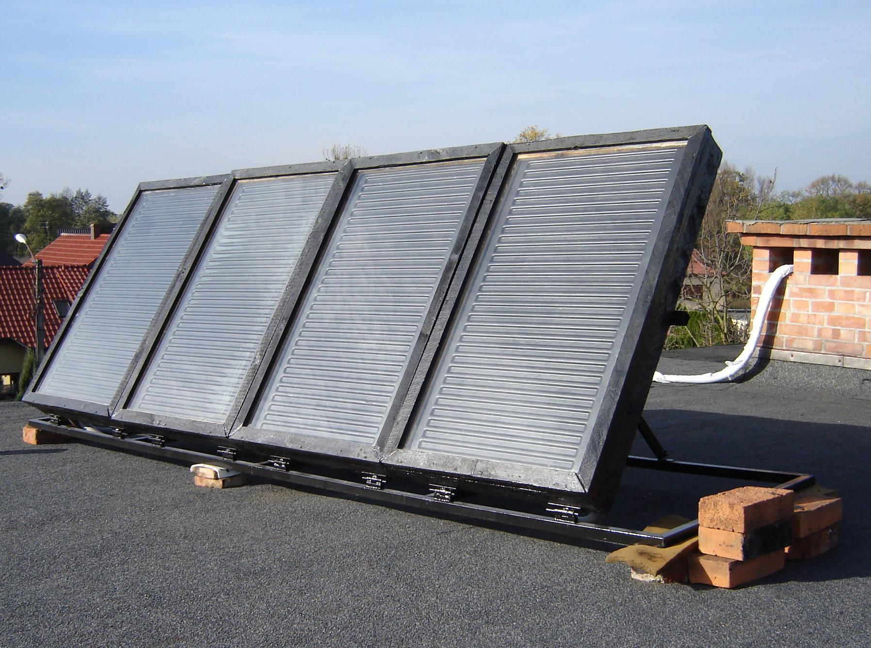 Ogromnie Kolektory słoneczne własnej roboty – wnioski po pięciu latach LJ46